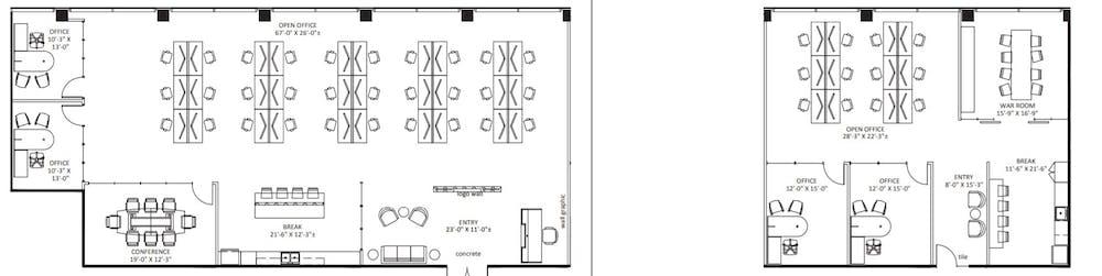 Suite 300/315 / 6,061 SF/ $22,648