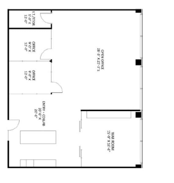 Suite 315 / 2,192 SF/ $8,191