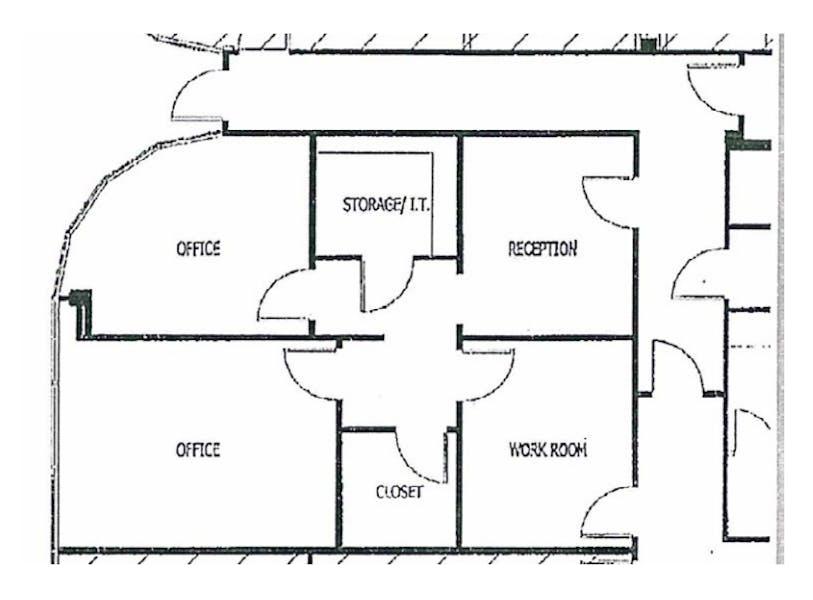 Suite SUBLEASE - 130 - thru 7/31/2023 / 943 SF/ $1,297