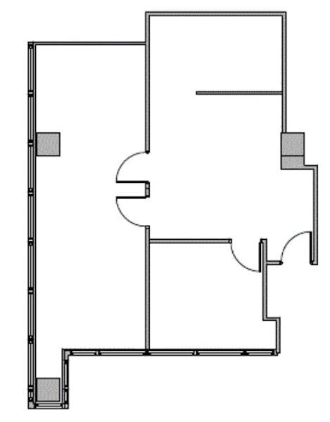 Suite 855 / 1,130 SF/ $1,669 + Electricity
