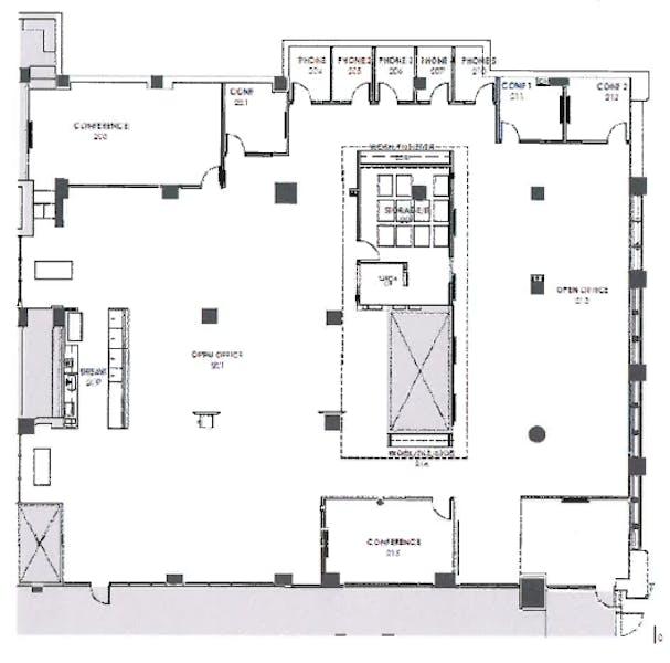 Suite Sublease 220 thru 11/30/22 / 9,206 SF/ $37,023