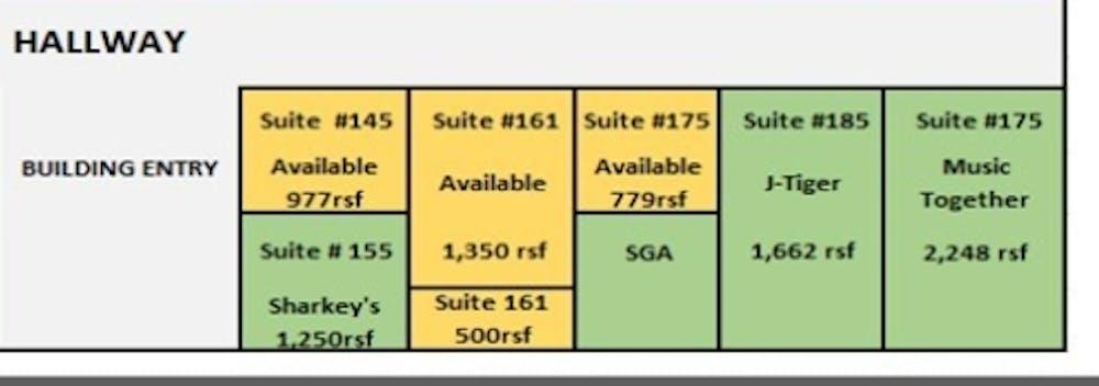 Suite 161 B / 500 SF/ $683