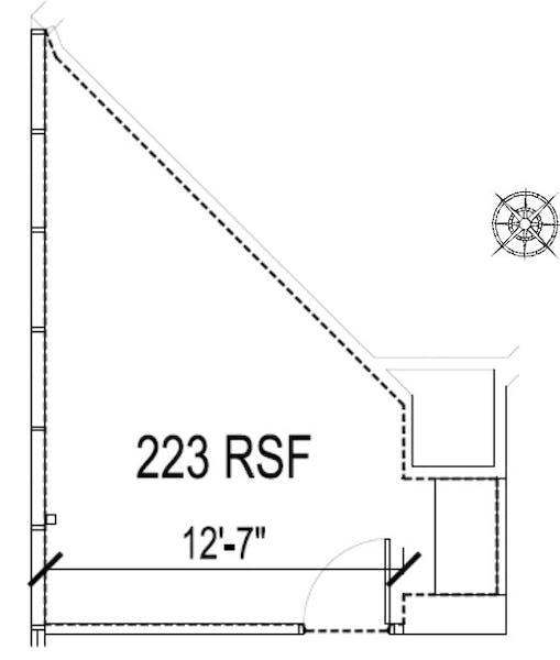 Suite  / 233 SF/ $311 + Electricity