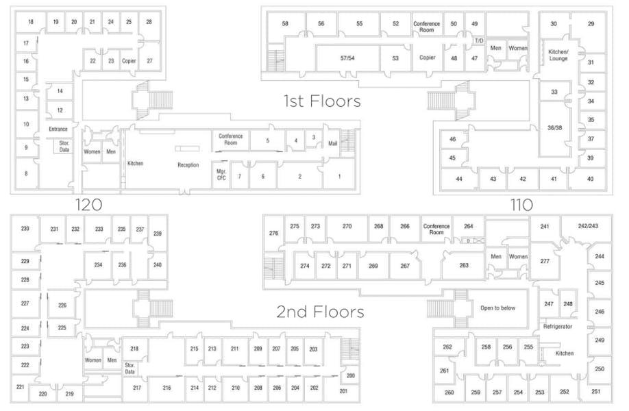 Suite Interior Office / 55 SF/ $448