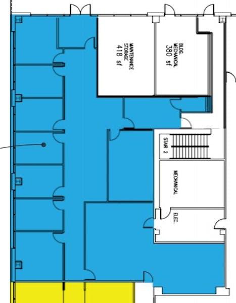 Suite 100 / 6,738 SF/ $11,230