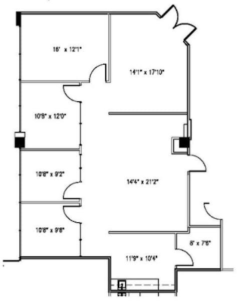 Suite 105-E / 1,709 SF/ Negotiable