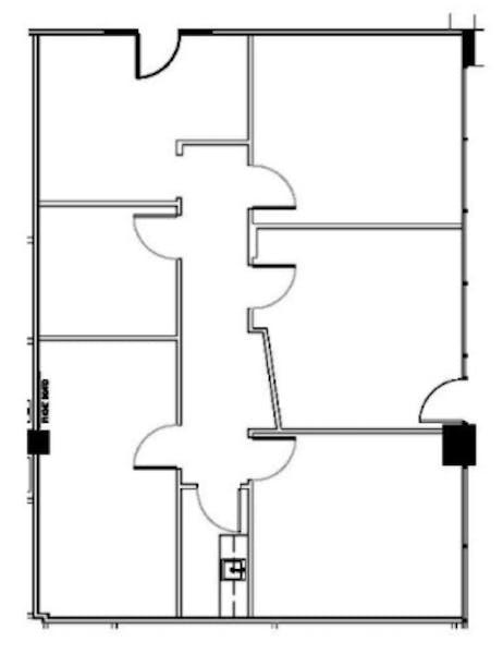 Suite 318-W / 1,429 SF/ $3,156