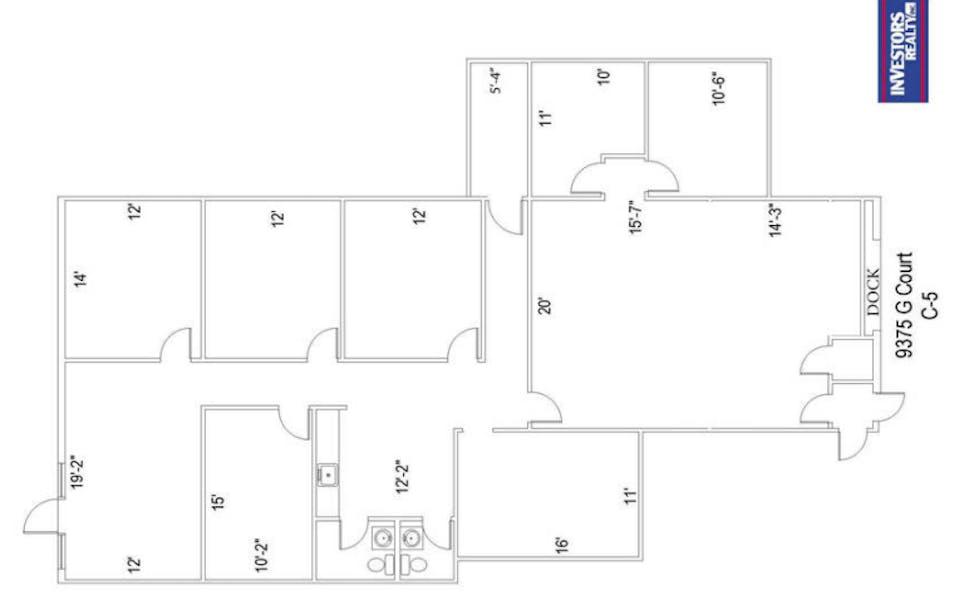 Suite Sublease C-5 / 2,426 SF/ $1,553 + Expenses