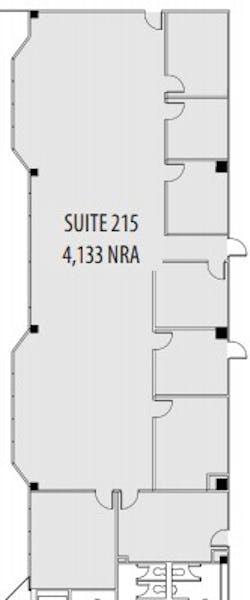 Suite 215 / 4,133 SF/ $5,683