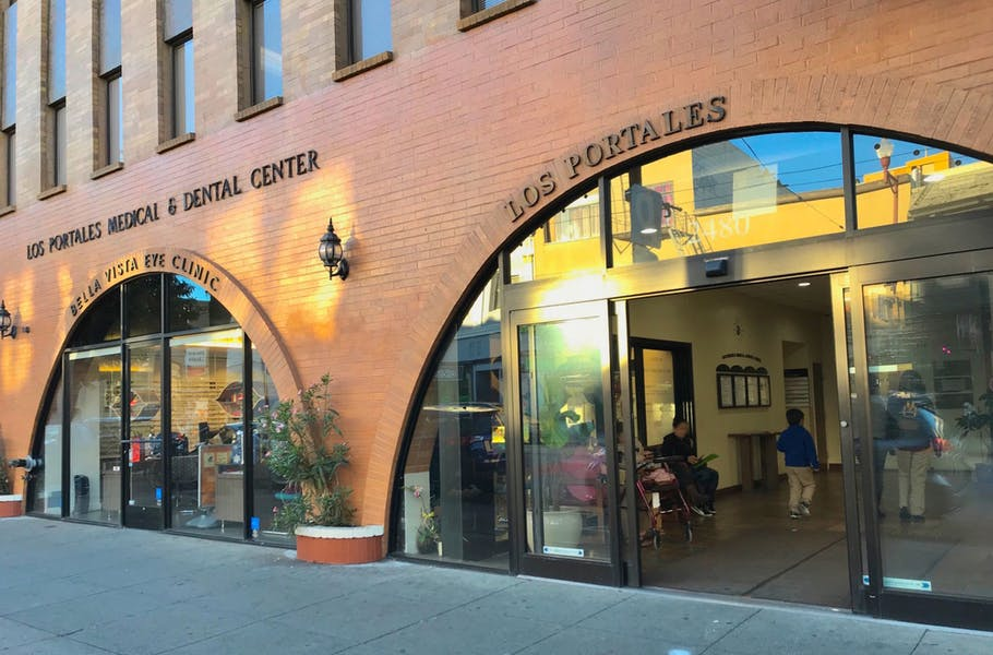 Mission Street Entrance + Ground Floor Lobby Entrance Spaces Available