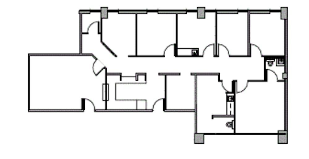 Suite 1350 / 2,160 SF/ $3,791 + Expenses