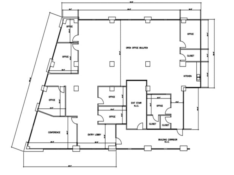 Suite 250 / 5,580 SF/ $13,020 + Electricity
