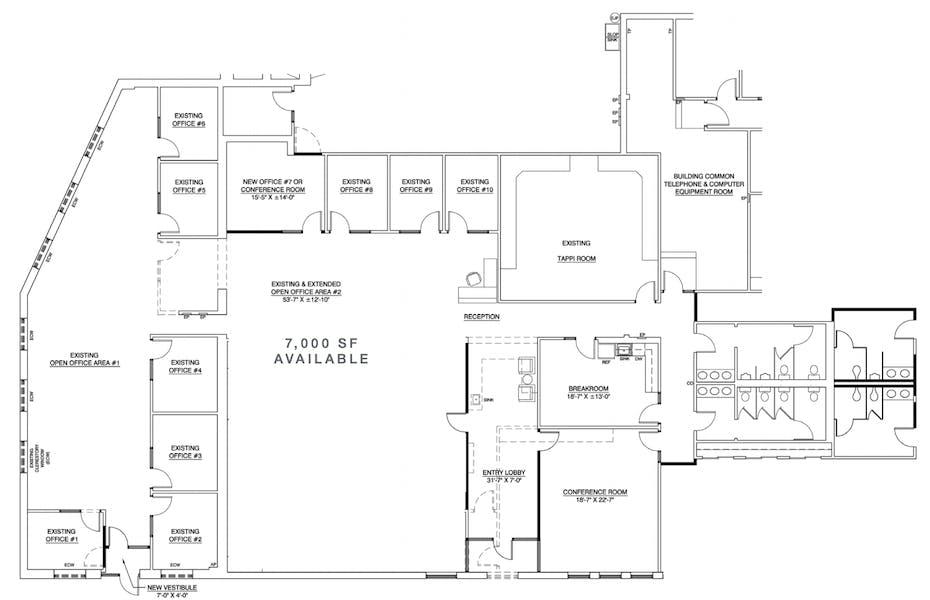Suite 100 / 7,000 SF/ $7,292 + Expenses
