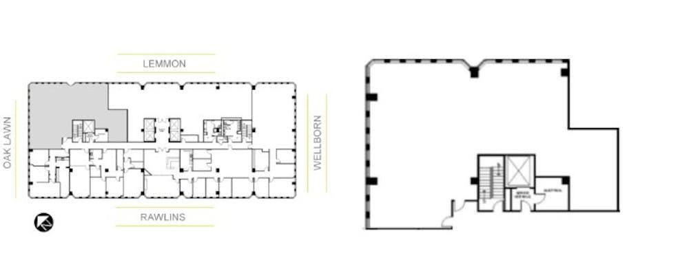 Suite 840 / 3,323 SF/ $12,162