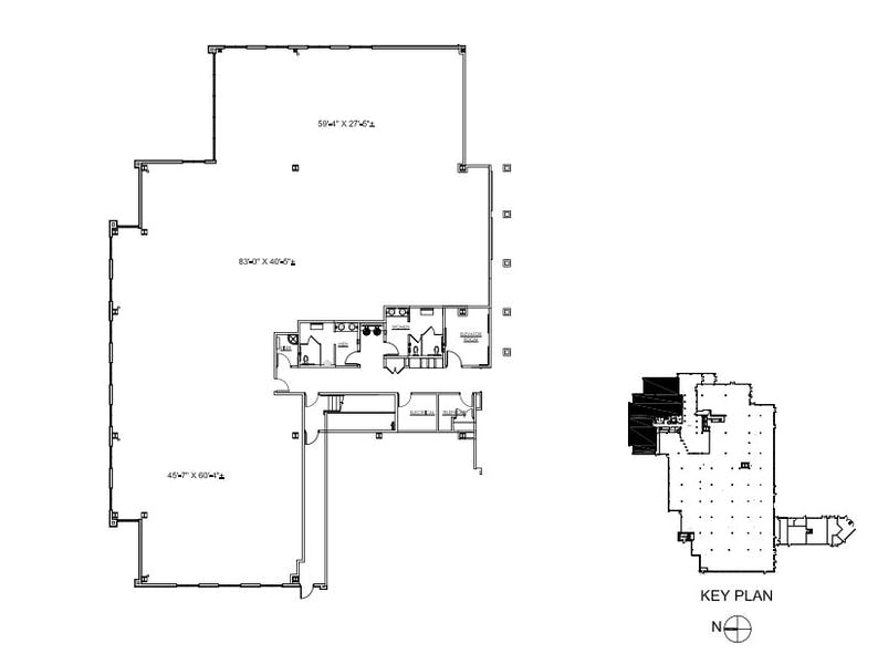 Suite 120 / 8,545 SF/ Negotiable