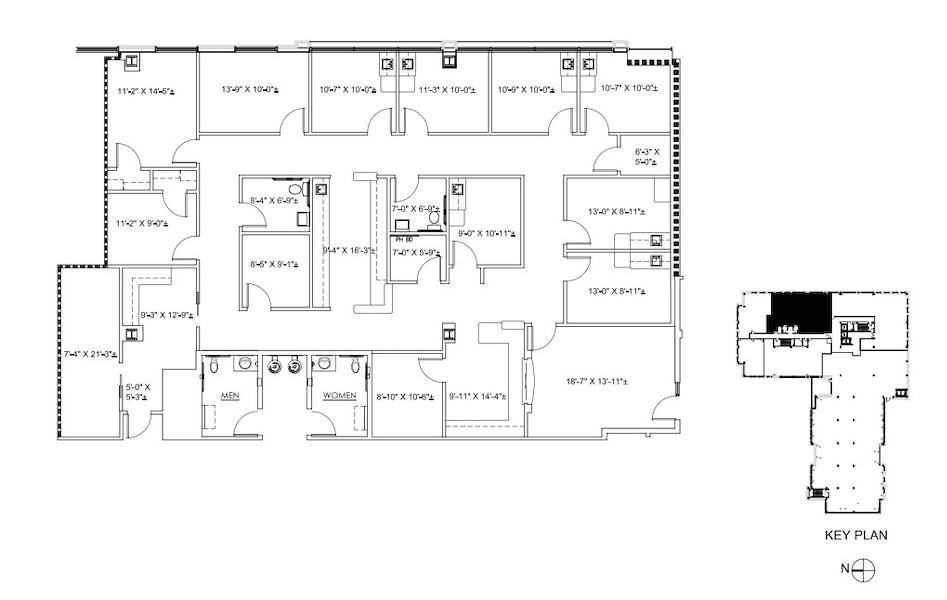 Suite 210 / 3,795 SF/ Negotiable