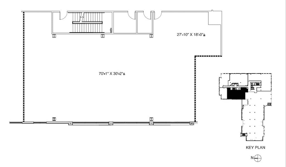 Suite 240 / 3,425 SF/ Negotiable