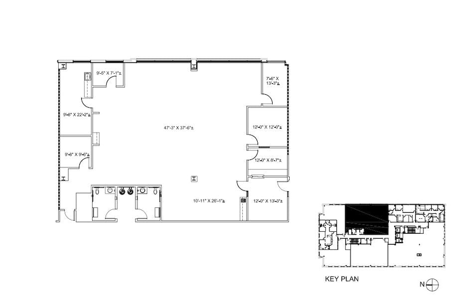 Suite 320 / 3,582 SF/ Negotiable