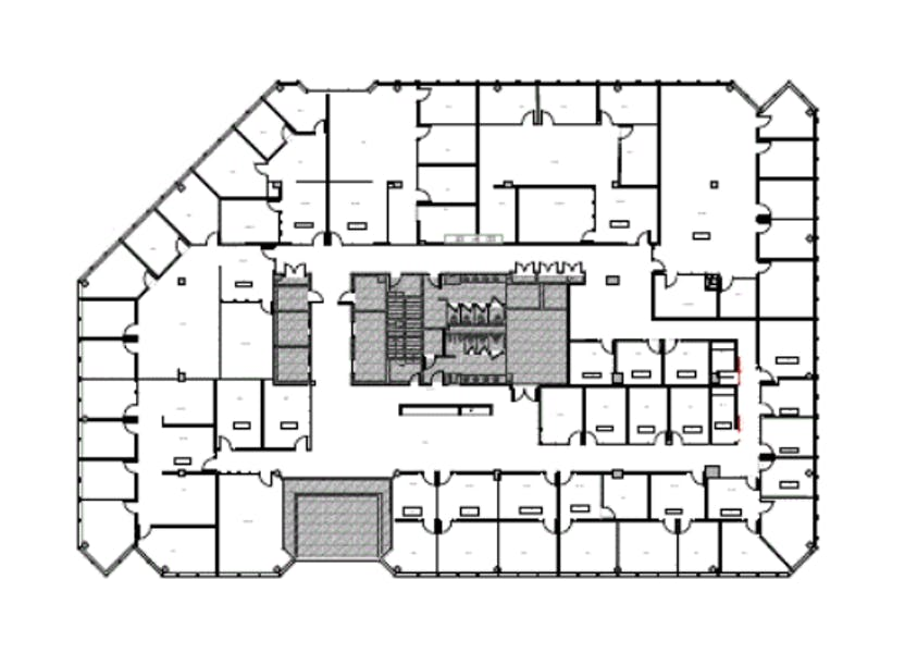 Suite 200.WS / 20,016 SF/ $35,028 + Expenses