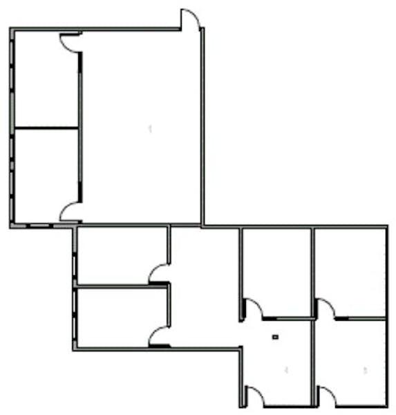 Suite 1550.01 / 2,663 SF/ $3,939 + Expenses