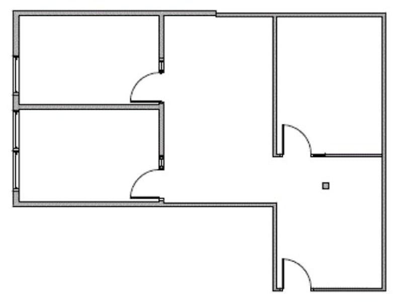 Suite 1730 / 1,108 SF/ $1,733 + Expenses