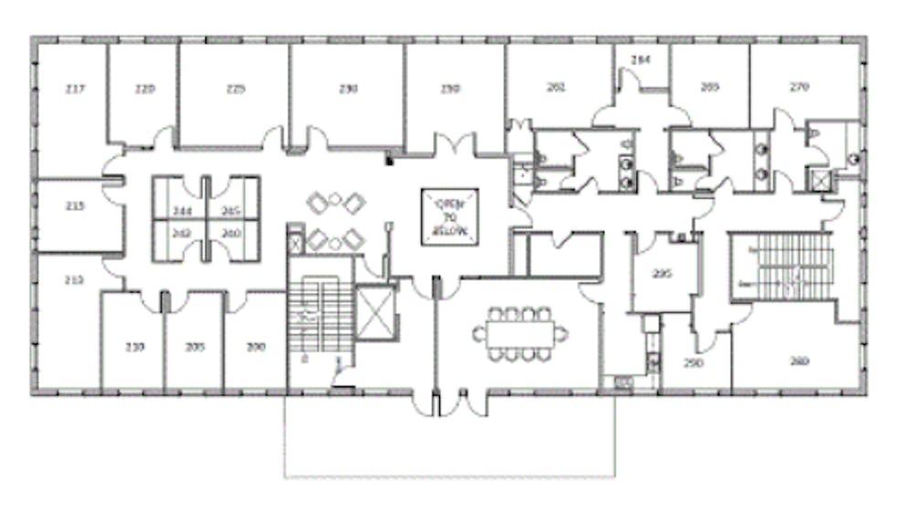 Suite 200.WS  / 6,638 SF/ Negotiable