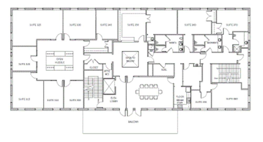 Suite 300.WS  / 6,412 SF/ Negotiable