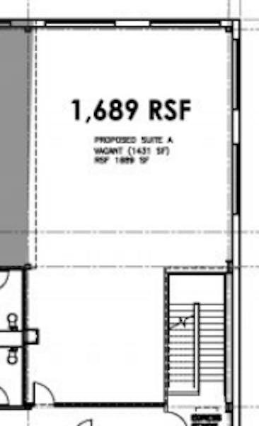 Suite F2 / 1,689 SF/ $3,519
