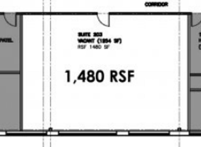 Suite F2 / 1,480 SF/ $3,083