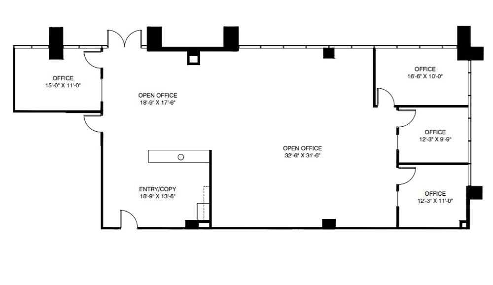 Suite 101 / 2,534 SF/ Negotiable