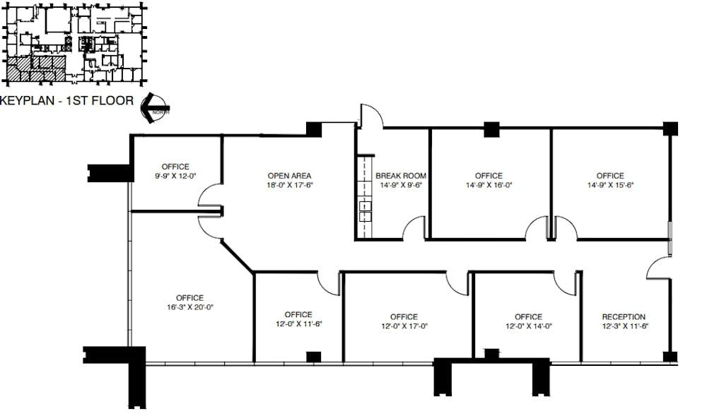 Suite 120 / 2,571 SF/ $3,642