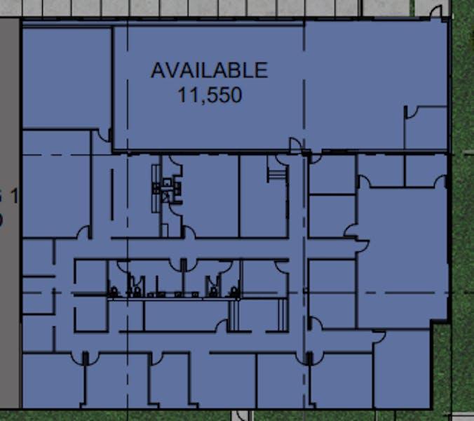 Suite  / 11,550 SF/ $16,286