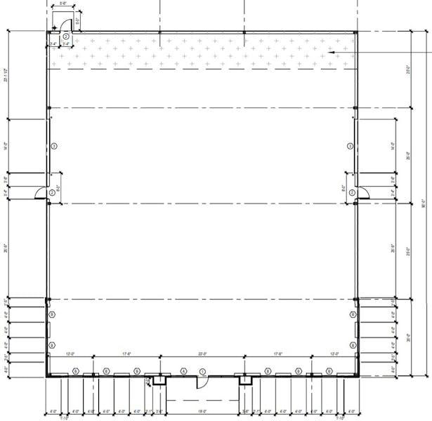 Suite Building E / 7,290 SF/ $7,727