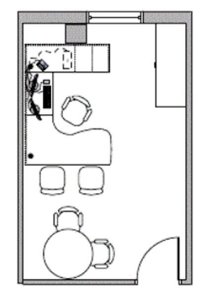 Suite 600F / 380 SF/ $380 + Expenses