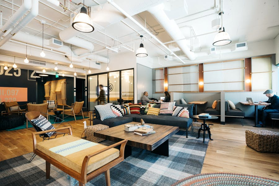 CoWorking & Office Space at 100 W Broadway