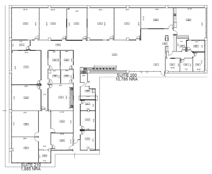 Suite 200 / 12,771 SF/ $30,331