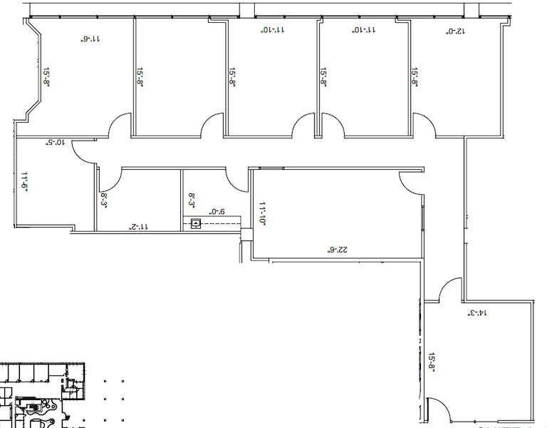 Suite 250 / 2,428 SF/ $5,767