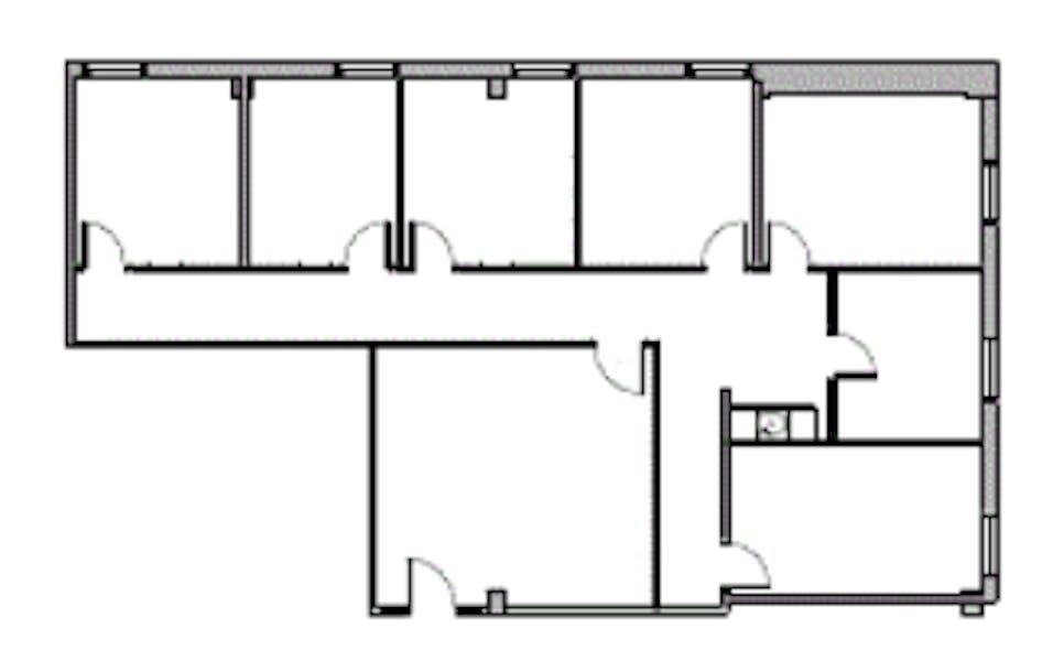 Suite 566  / 1,850 SF/ $2,621 + Expenses