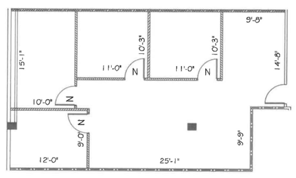 Suite 211 / 1,204 SF/ $2,759