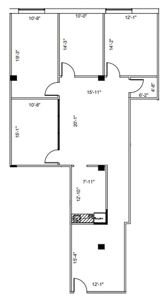 Suite 250 / 1,747 SF/ $4,295