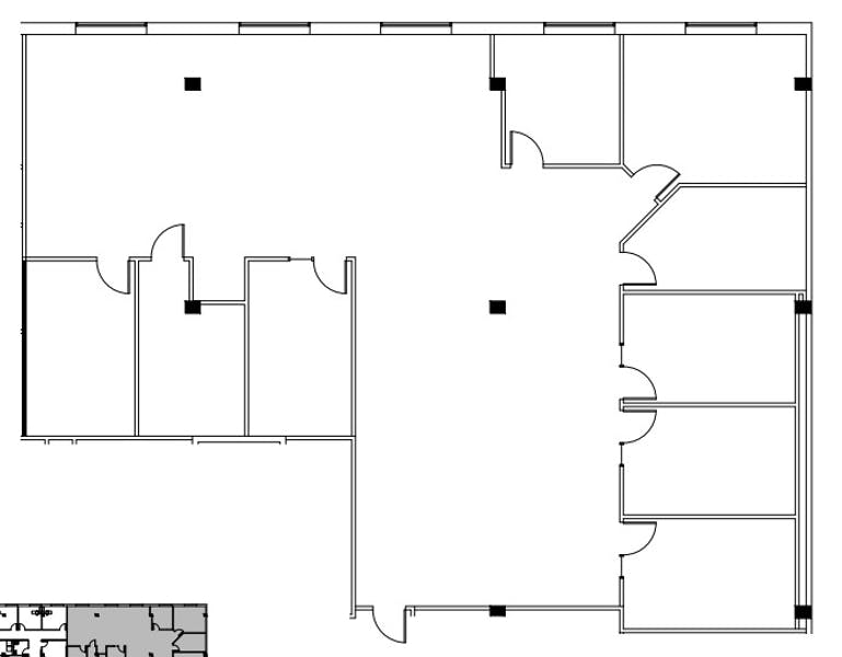 Suite 350 / 3,905 SF/ $9,600