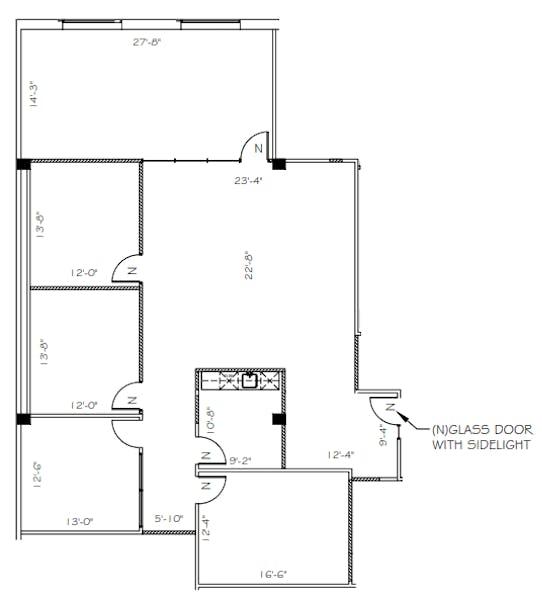 Suite 415 / 2,517 SF/ $6,188