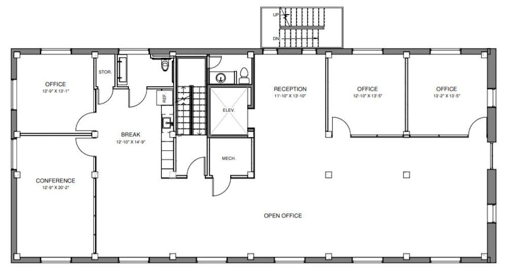 Suite 500 / 3,152 SF/ $15,497
