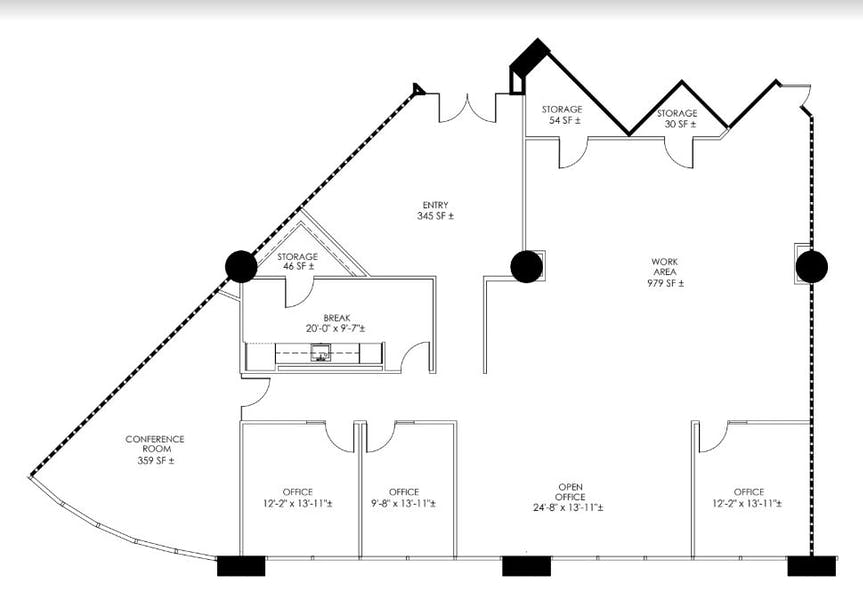 Suite 270 / 3,826 SF/ $8,449 + Electricity