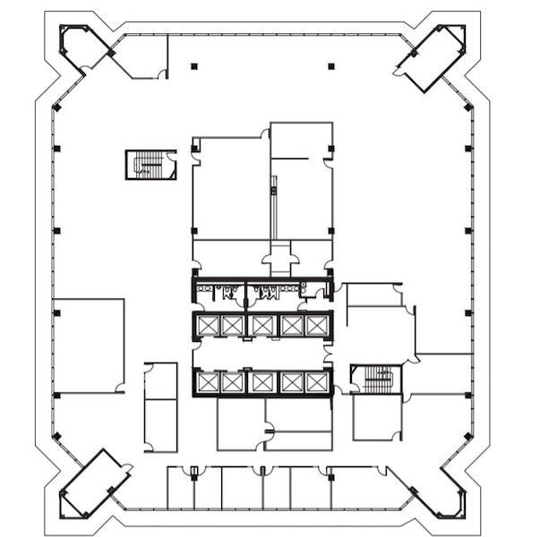 Suite 1100 / 26,199 SF/ $52,398 + Electricity