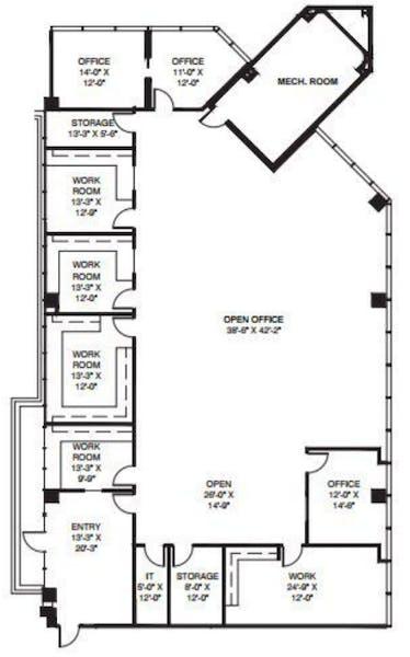 Suite 650 / 5,131 SF/ $9,407 + Electricity