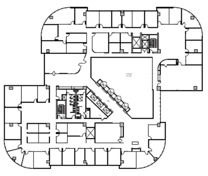 Suite 2-1400.WS / 20,570 SF/ $26,655 + Expenses