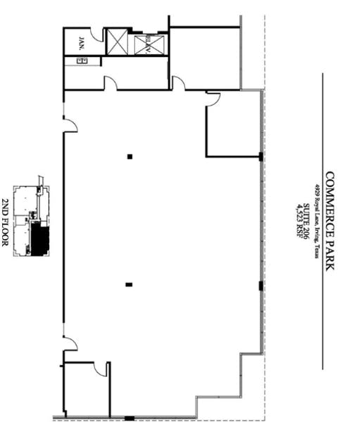 Suite 206 / 4,523 SF/ $6,596 + Electricity