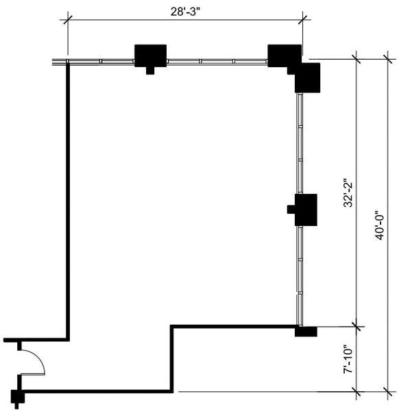 Suite 314 / 1,191 SF/ $2,382