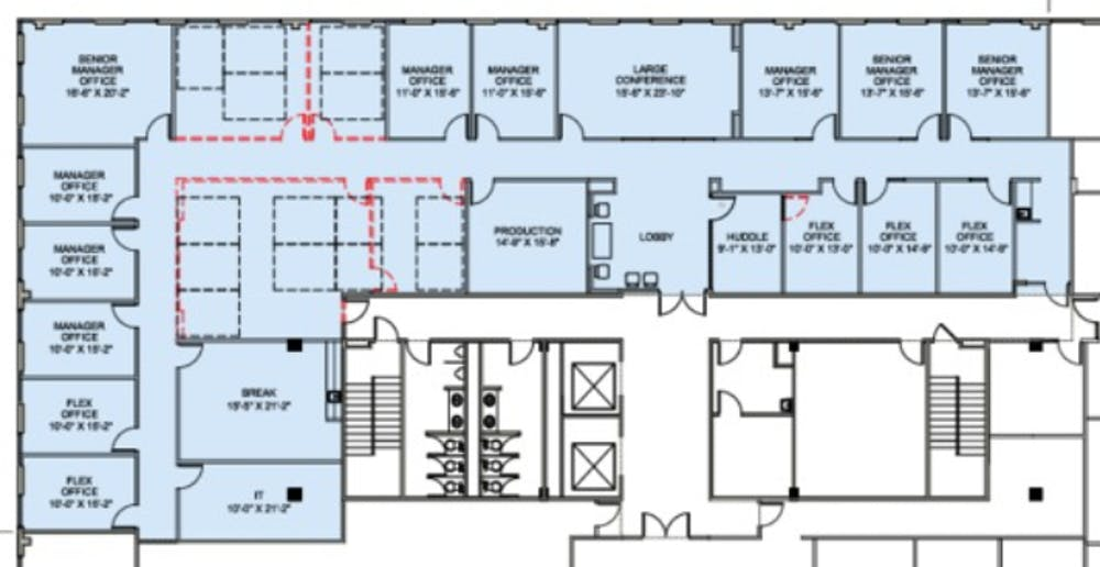 Suite 605 / 7,110 SF/ Negotiable